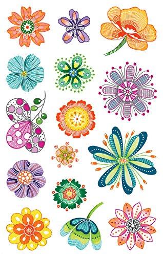 z de diseño 54484Pegatina Decorativa (creativo flores adhesivo 30)