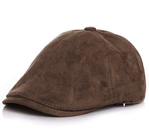 (Kuyou Gatsby Mütze Kinder Baskenmütze Baby Kids Kapppe Hüte (Braun))