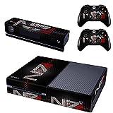 XBox One und Kamera + 2 Controller Aufkleber Schutzfolie Set - Mass Effect /X-Box One