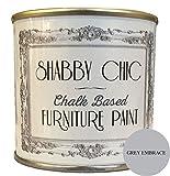 Kalkfarbe für Möbel in Shabby-Chic-Optik, Grau