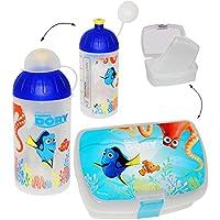 Preisvergleich für alles-meine.de GmbH 2 TLG. Set _ Lunchbox / Brotdose & Trinkflasche - Findet Nemo - Fisch Dory ..