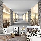 Mbwlkj Benutzerdefinierte Selbstklebende Boden Mural Tapete 3D Kreative Bunte Stein Bodenfliesen Aufkleber Badezimmer Wohnzimmer Pvc Tapete 3D-400cmx280cm