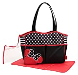 Disney Minnie Mouse Wickeltasche + Wickelunterlage