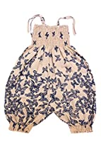 All in One Cotton Romper in Butterfly Print 6