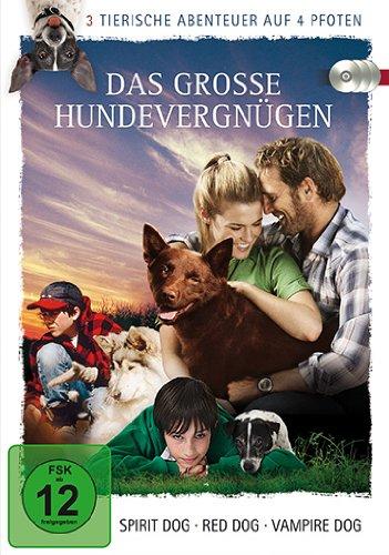 Das große Hundevergnügen - 3 tierische Abenteuer auf 4 Pfoten [3 DVDs]