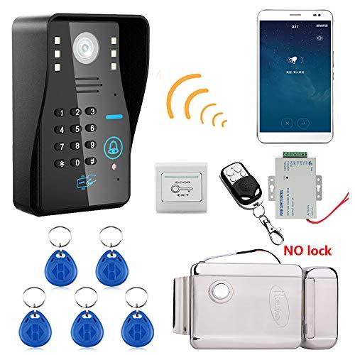 Umv Calendario.Wifi Video Door Phone Campanello Hd 720p Wireless Rfid Password Citofono Sistema Visione Notturna Serratura Elettronica Sistema Di Controllo