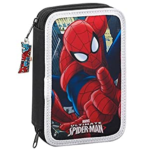 Plumier Ultimate Spider-Man Marvel doble 34pz