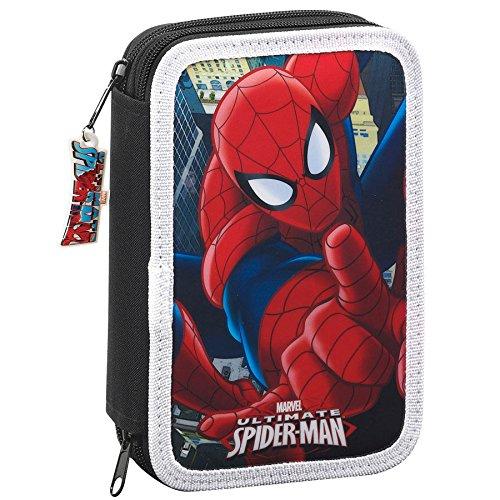 Plumier Ultimate Spider-Man Marvel doble 34pz
