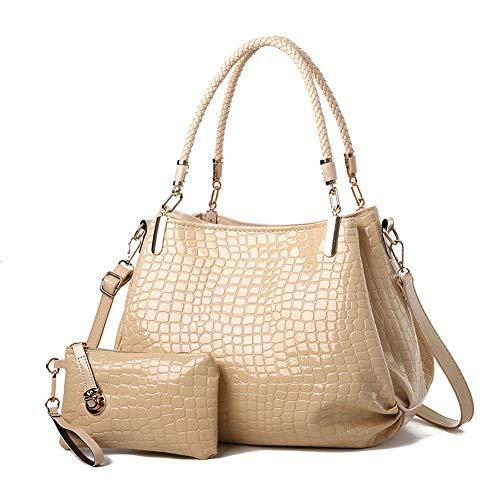 che mit großer Kapazität Damen Handtasche Umhängetasche Shopper PU Leder Moderne Damen ()