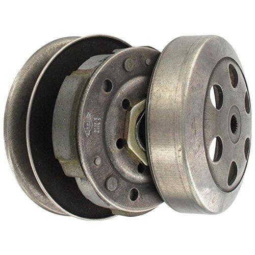 Xfight-Parts Kupplung komplett 112mm Riemensch/Glocke ohne Drzbg. 2Takt 50ccm liegender Minarelli Motor AC/LC 1E40QMB (Jonway Roller)