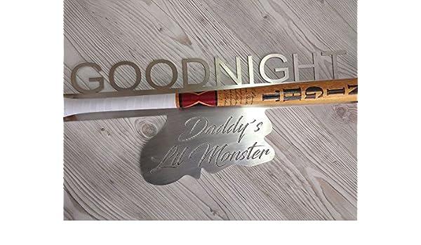 Good Night Baseballschl/äger mit Wandhalter Arizona Outlet Suicide squad Harley Quinn
