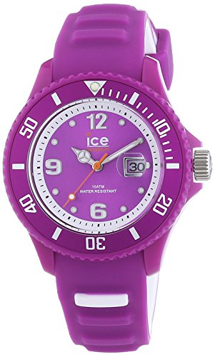 ICE-Watch SUN.NPE.U.S.14 Sunshine 2014 - Wristwatch Unisex, Silicone, Band Colour: Purple
