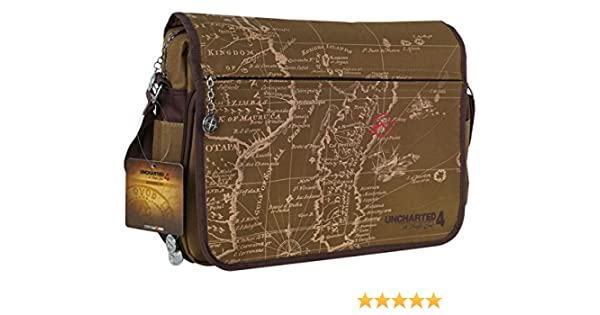 Uncharted 4 Messenger Bag Map  Amazon.co.uk  Luggage a91cb06de4b8c