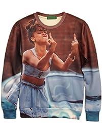 Demarkt Mode Garçon Sweat-shirts/ Sweatshirt/ Sweat Swag 3D Imprimé Image Individualisé sans Capuche M / L/ XL