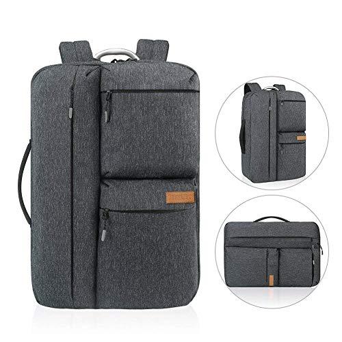 Reise Laptop Rucksack, REYLEO Business Handtasche Herren Anti-Diebstahl 17 Zoll Computer Tasche für Männer und Frauen, Wasserabweisend Tagesrucksack für College Schule City-dunkelblau RB32