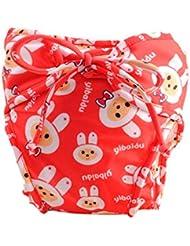 Couches de natation de bébé réglables réutilisables Nappes de bébé Coupe de natation étanches de bébé, # 08