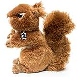Kuscheltiere.biz Eichhörnchen CHIP sitzend 18 cm Plüschtier