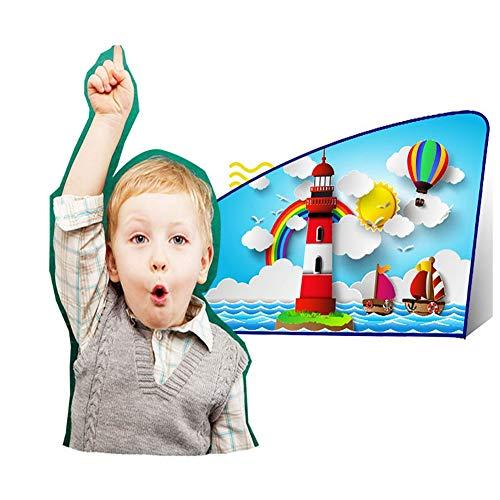 FDSEA Cartoon Kinder Auto Sonnenschutz Fenster Schatten einziehbare magnetische Sonnencreme UV-Schutz und Privatsphäre, schützen Sie Ihr Baby vor der Sonne