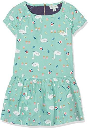Lilly and Sid Vintage Full Skirt Dress-Swan Print, Falda para Niñas Lilly and Sid