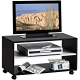 homcom 02 0609 fernsehtisch tv bank videowagen lowboard. Black Bedroom Furniture Sets. Home Design Ideas