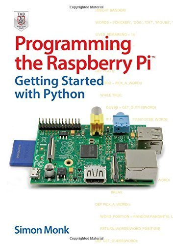 Programming the Raspberry Pi: Getting Started with Python by Monk (2013-01-01)