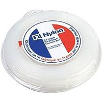Hilo Desbrozadora Nylon 1,6mm x 100m. Redondo. Blanco. Blister