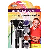 Tattoo India Glitter Kit, Temporary Body Glittered Tattoo for Kids, Young, and Elders and Easy to Use