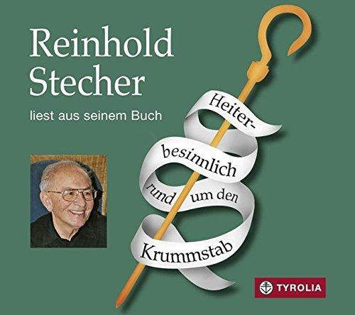 Heiter-besinnlich rund um den Krummstab: Reinhold Stecher liest aus seinem Buch, musikalisch umrahmt auf der Harfe von Margarete Kantuscher. - Umrahmt