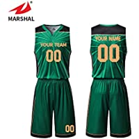 e4746b11c0b ZHOUKA custom mens sublimation printing logo and number team green uniforms basketball  jersey