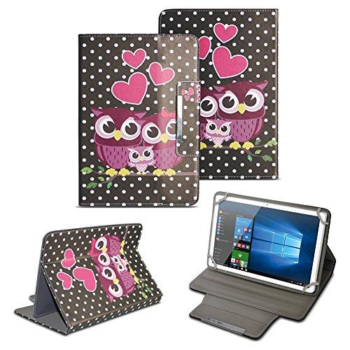 NAUC Tablet Tasche für Acer Iconia One 10 B3-A40 Hülle Schutzhülle Case Schutz Cover, Farben:Motiv 5