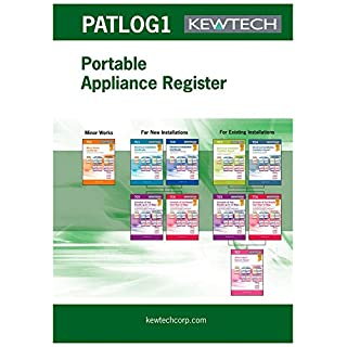 PAT REGISTER BOOK, MULTIPLE SITES // PAT REGISTER BOOK, MULTIPLE SITES; Accessory Type:PAT Register Book; For Use With:Electrical testing equipment; Produ ( PATLOG1 )