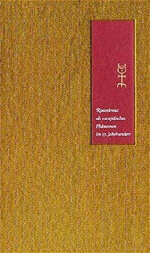 Rosenkreuz als europäisches Phänomen im 17. Jahrhundert