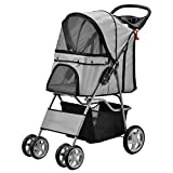 Pet Stroller / Travel Cat Dog Puppy / Pushchair / Transport / Buggy