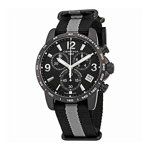Certina DS Podium Black Dial Mens Chronograph Watch C034.417.38.057.00