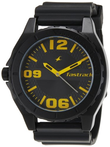 Fastrack OTS Sports Analog Black Dial Men's Watch - NE9462AP04J image