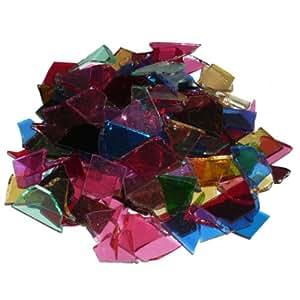 mosaixpro 200g pièces en verre, multicolore
