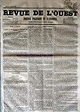 Telecharger Livres REVUE DE L OUEST No 85 du 16 07 1853 JOURNAL POLITIQUE ET D ANNONCES (PDF,EPUB,MOBI) gratuits en Francaise