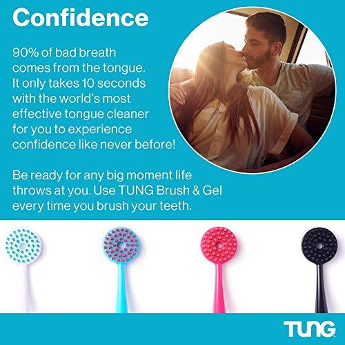 Tung Gel Fresh Mint Zungengel 85g Tube hilft gegen Mundgeruch - 6