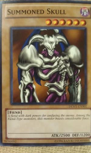 Yu-Gi-Oh! - Summoned Skull Skull Skull (DEM1-EN001) - Demo Pack - Edition - Common by Yu-Gi-Oh! | Online Store