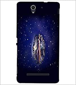 PrintDhaba Fantasy Girls D-3826 Back Case Cover for SONY XPERIA C3 (Multi-Coloured)