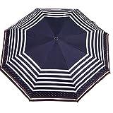 GT Regenschirm Automatisch Mode 3 Folding Umbrella, geschäftliches, Großes Werbe-Regenschirm, Sonnenschirm Stockschirm Robuste winddicht Anti-UV-Sonnenschutz Dach