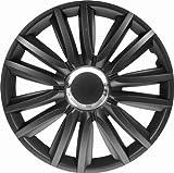 CTE Universal Radzierblende Radkappe schwarz 16 Zoll für viele Fahrzeuge passend