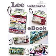 """Lee Geldbörse, Portmonee PDF-Datei auf CD. """"Nähen ohne Schnittmusterausdruck"""" Handmade with Love von firstloungeberlin"""