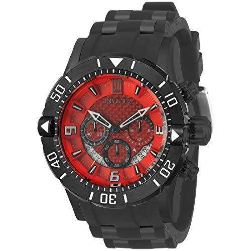 Invicta Jason Taylor Herren-Armbanduhr Armband Kunststoff Schwarz Quarz 24170