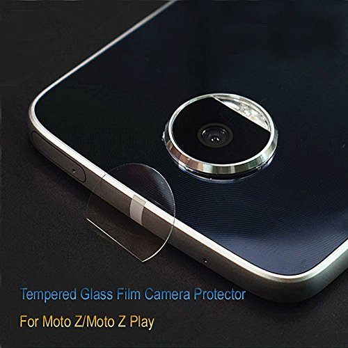 Shockware Back Camera Tempered Glass Lens Protector Soft Protective Film Compatible With Motorola Moto Z Play