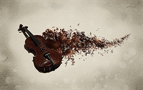 Posterhouzz Music Artistic Violin Wall Poster  available at amazon for Rs.199
