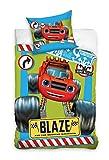 Nickelodeon Blaze und die Monster Machinen Kinderbettwäsche Bettwäsche 140x200