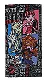 Badetuch Monster High 70 cm * 140 cm Handtuch Strandtuch Baumwolle - Mädchen Puppe pink Gothik Puppen