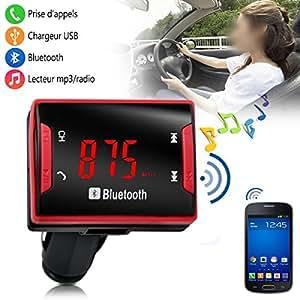 Seluxion - Kit Main Libre Bluetooth multi-fonction voiture auto pour Vitamin A