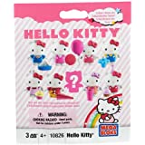 Hello Kitty Mega Bloks Toy - Mini Figure Series 1 Mystery Pack - Includes Building Block
